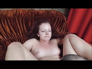 Redhead Gets Fucked Hard While Her Friend Begs To Join In
