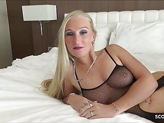 First Time BBC for German MILF Kacy Kisha No Condom Fuck