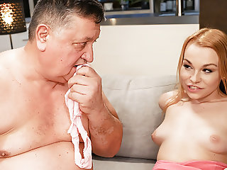 Teasing Stepdaughter gets Stepdad to Fuck her Horny Pussy