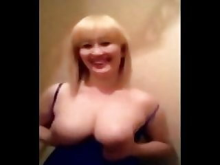 hot busty asian kazakh cougar & young russian boys have fun