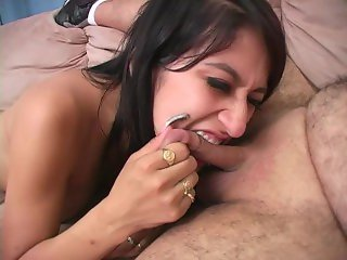ballbusting 3 cockbiting cheerleader blowjobs - Scene 2