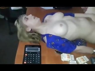 horny wife fucked by her her fat boss with small cock