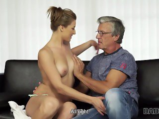 Daddy4K. Victoria doesn't love her boyfriend but likes his father