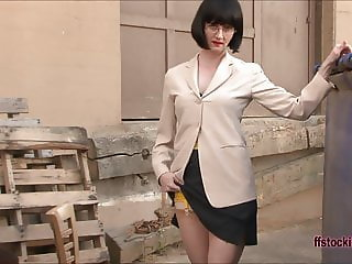 FFstockings - Nice Prim and Proper Lady is too Horny