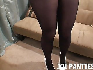 Sit down and let me model my new panties for you JOI