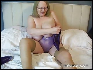 My purple nightie