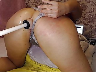 Anal Fuck Machine Wet Juicy Pussy