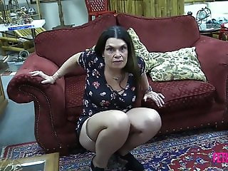 Fetish Freak Scene Flashing my pussy in store