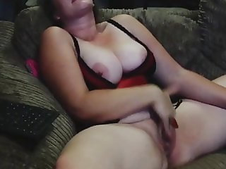 Rough masterbation loud orgasm