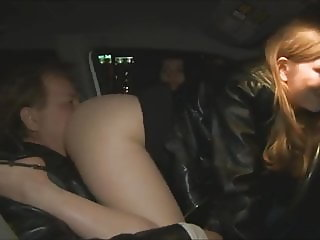 Ass Licking in Car as Mistresses Chat