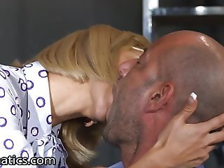 Hot Young Secretary Gangbanged in Conference Room