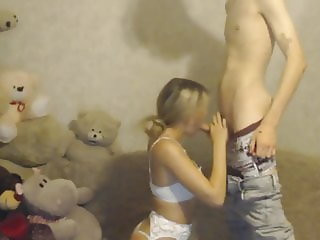 Kinky eastern Europe couple - oral sex