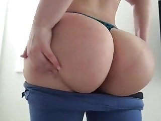 Fat ass milf playing with us