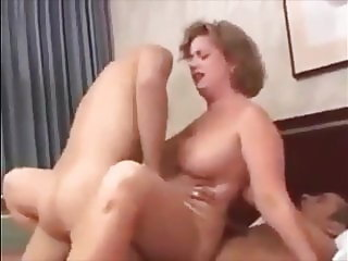 hot milf gets double penetration anal and facial