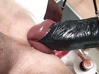 Huge strapon, fisting, mistress, gyno clinic