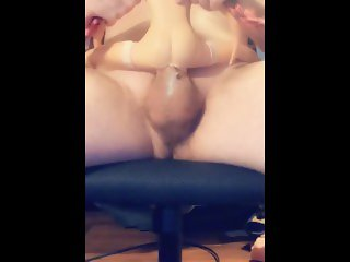 little spitback doll huge creampie