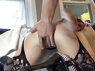 Lil Christi Anal Hook Crying