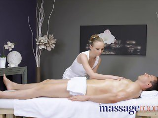 Massage Rooms cute young woman with all natural petite body lady bug
