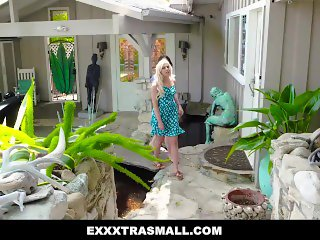ExxxtraSmall - Two Tiny Teens Share Their Sugar Daddy's Dick
