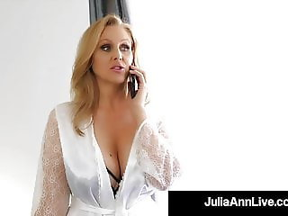 Motherly Love With Julia Ann Fucking Step-Son's Young Dick!