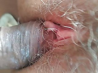 white girl taking a big cock
