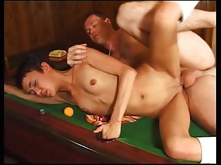 Hot young Tamara fucked in bar
