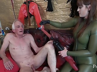 Ass and Mouth Drilling - Rough and Intense Fuck by Vivienne