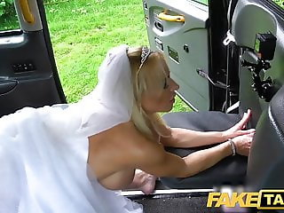 Fake Taxi Sexy Tara Spades creampied on her wedding day