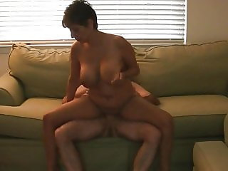 granny riding creampie