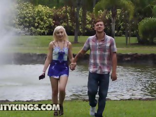 Reality Kings - Sneaky blonde Addie Andrews makes men cheat