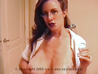 Allison hot mom cum on tits