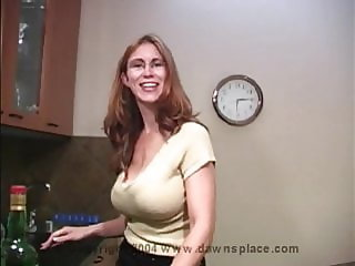 Allison hot mom cum drink