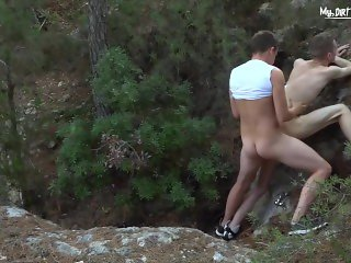 Perverted Summer House Sc.4 Pt.1 (MY DIRTIEST FANTASY) Bareback outdoor