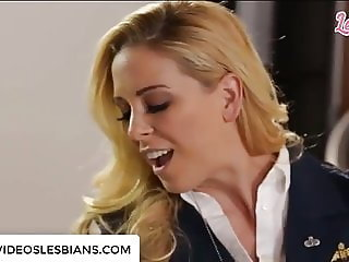 ALEXIS FAWX SPANKED BY OFFICER CHERIE