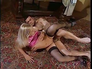 Black Stockings Secretary LINDA KISS Hard Fucking