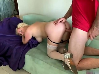 Step Son fuck My Ass When Daddy Leaves