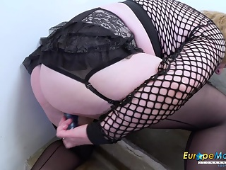 Video with extremely busty mature and her horny masturbation captured Find full length videos on our network Oldnanny.com