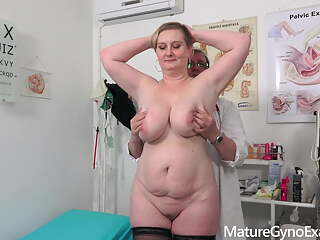 busty mature woman