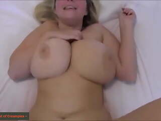 Cum Injection for a horny chubby blonde pussy, from Hamburg!
