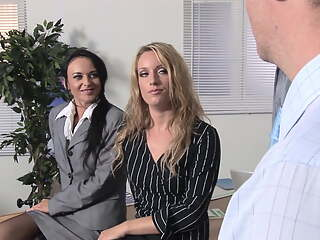 A Hard and Rough Day: Double Penetration for Claudia & Bobbi