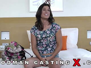 CASTING Raunchy Spanish Whore Julia Roca Rough Assfucking