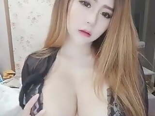 huge boobs asian model