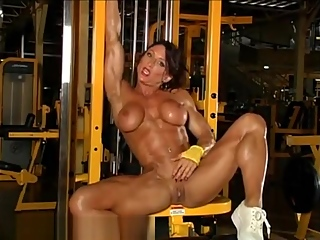 FBB's masturbation and workout