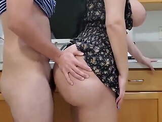 Sexy Latina Wife with Big Butt