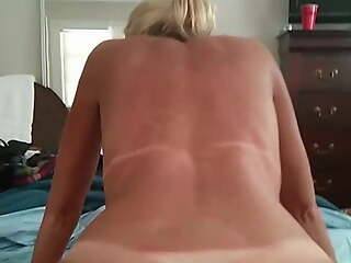 Ride to orgasm big ass swedish mom