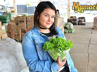 Carne Del Mercado - Busty Chubby Latina Babe Likes It Rough - MamacitaZ