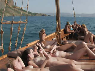 Nude Teens on Boat full Vid # 4 better Quali