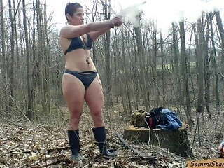 Bikini Black Powder Shooting