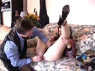 Hairy young girl initiates sodomy