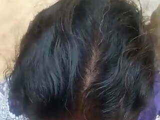 Tamil aunty taking lover's cum in her mouth